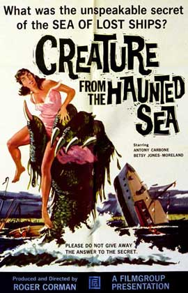 Creature from the Haunted Sea - 11 x 14 Movie Poster - Style A
