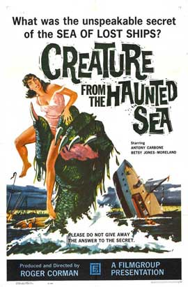 Creature from the Haunted Sea - 11 x 17 Movie Poster - Style A