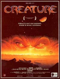 Creature - 11 x 17 Movie Poster - French Style A