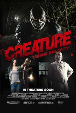 Creature - 11 x 17 Movie Poster - Style A