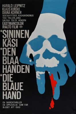 Creature with the Blue Hand - 11 x 17 Movie Poster - German Style A