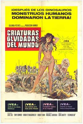 Creatures the World Forgot - 11 x 17 Movie Poster - Spanish Style A