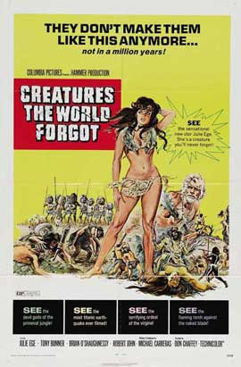 Creatures the World Forgot - 27 x 40 Movie Poster - Style B