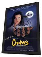 Creepers - 11 x 17 Movie Poster - Style A - in Deluxe Wood Frame