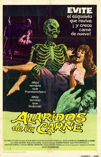 The Creeping Flesh - 11 x 17 Movie Poster - Spanish Style A