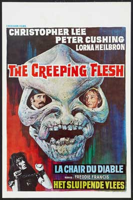 The Creeping Flesh - 11 x 17 Movie Poster - Belgian Style A