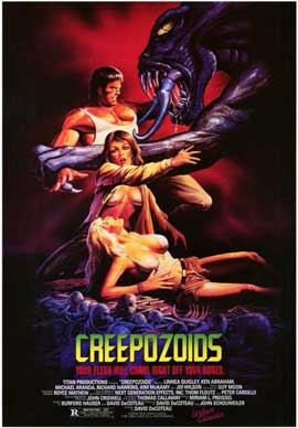 Creepozoids - 11 x 17 Movie Poster - Style A