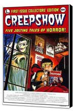 Creepshow - 11 x 17 Movie Poster - Style A - Museum Wrapped Canvas