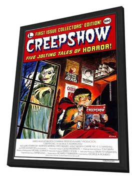 Creepshow - 11 x 17 Movie Poster - Style A - in Deluxe Wood Frame