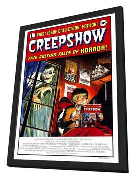 Creepshow - 27 x 40 Movie Poster - Style A - in Deluxe Wood Frame
