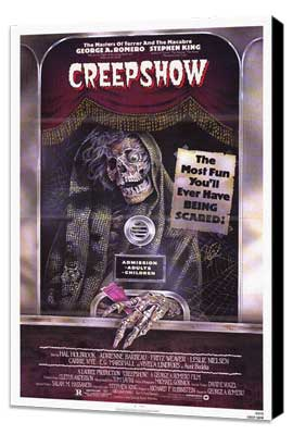 Creepshow - 11 x 17 Movie Poster - Style B - Museum Wrapped Canvas