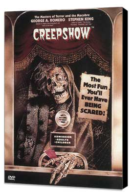 Creepshow - 11 x 17 Movie Poster - Style C - Museum Wrapped Canvas