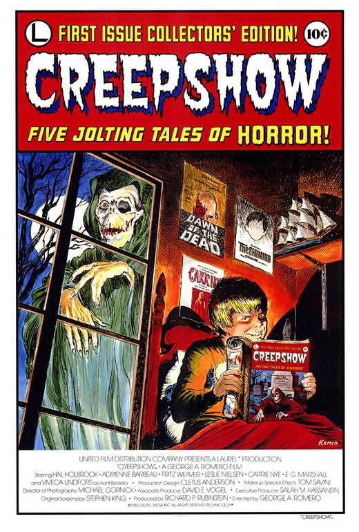 Creepshow Movie Poster Creepshow Movie Poster Style a