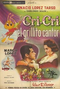 Cri Cri el grillito cantor - 11 x 17 Movie Poster - Spanish Style A