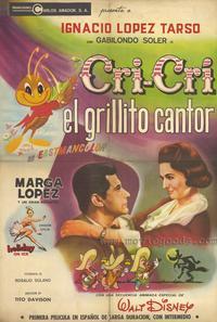 Cri Cri el grillito cantor - 27 x 40 Movie Poster - Spanish Style A