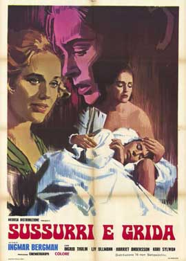 Cries and Whispers - 11 x 17 Movie Poster - French Style A