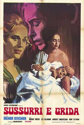 Cries and Whispers - 27 x 40 Movie Poster - French Style A