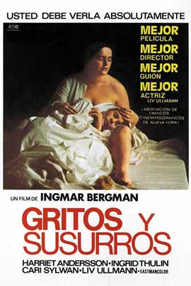 Cries and Whispers - 11 x 17 Movie Poster - Spanish Style A