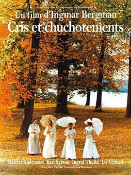 Cries and Whispers - 11 x 17 Movie Poster - French Style B
