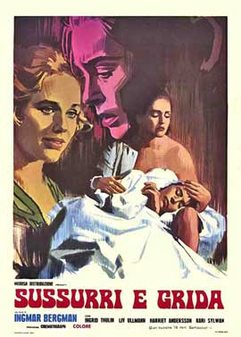 Cries and Whispers - 11 x 17 Movie Poster - Italian Style A