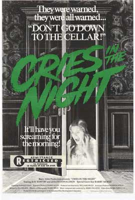 Cries in the Night - 27 x 40 Movie Poster - Style A