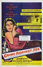 Crime Against Joe - 11 x 17 Movie Poster - Style A