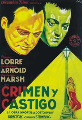 Crime and Punishment - 27 x 40 Movie Poster - Spanish Style A