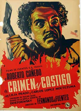 Crime and Punishment - 11 x 17 Movie Poster - Spanish Style A