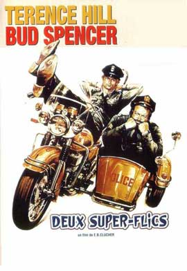 Crime Busters - 11 x 17 Movie Poster - French Style A