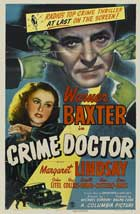 Crime Doctor - 11 x 17 Movie Poster - Style A