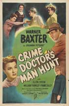 Crime Doctor's Gamble - 27 x 40 Movie Poster - Style B