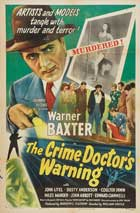 Crime Doctor's Gamble - 27 x 40 Movie Poster - Style C