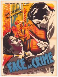 Crime in the Streets - 47 x 62 Movie Poster - French Style A