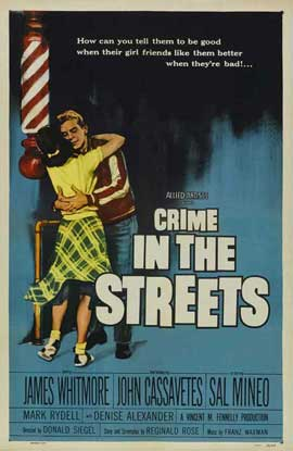Crime in the Streets - 11 x 17 Movie Poster - Style B