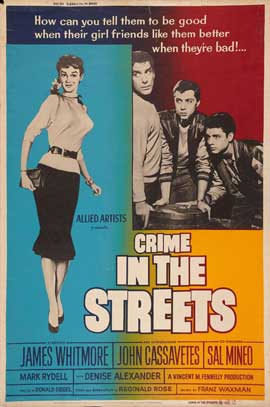 Crime in the Streets - 11 x 17 Movie Poster - Style D