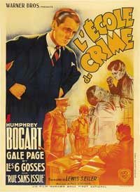 Crime School - 11 x 17 Movie Poster - French Style A
