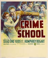 Crime School - 30 x 40 Movie Poster - Style A