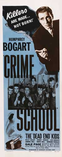 Crime School - 14 x 36 Movie Poster - Insert Style B