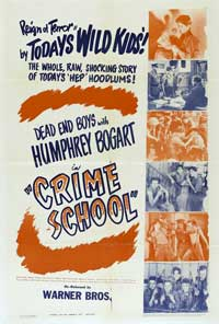 Crime School - 27 x 40 Movie Poster - Style C