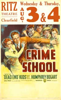 Crime School - 11 x 17 Movie Poster - Style D