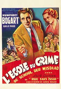 Crime School - 11 x 17 Movie Poster - French Style D