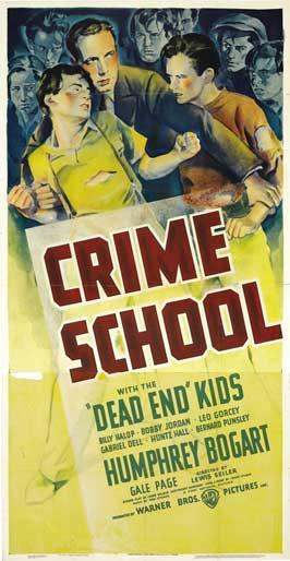 Crime School - 27 x 40 Movie Poster - Style E