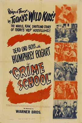 Crime School - 27 x 40 Movie Poster - Style H