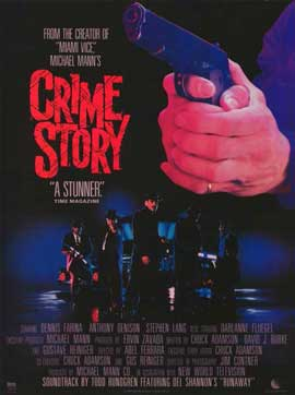 Crime Story - 11 x 17 Movie Poster - Style A
