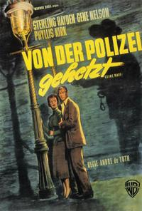 Crime Wave - 27 x 40 Movie Poster - German Style A