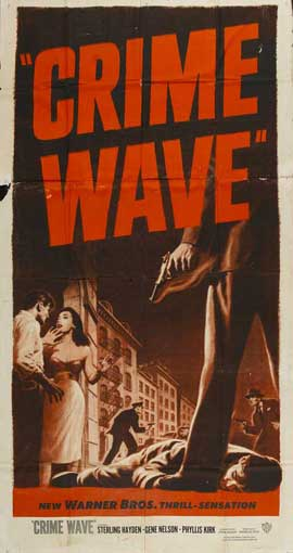 Crime Wave - 27 x 40 Movie Poster - Style B