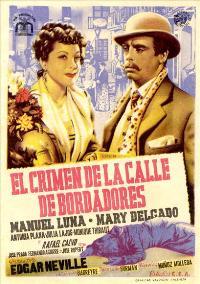 Crimen de la calle de Bordadores, El - 27 x 40 Movie Poster - Spanish Style A