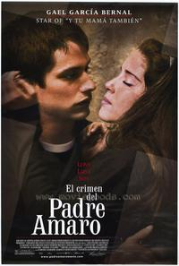 Crimen del padre Amaro, El - 43 x 62 Movie Poster - Bus Shelter Style A