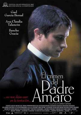 Crimen del padre Amaro, El - 11 x 17 Movie Poster - Spanish Style A