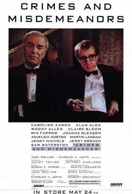 Crimes & Misdemeanors - 11 x 17 Movie Poster - Style B